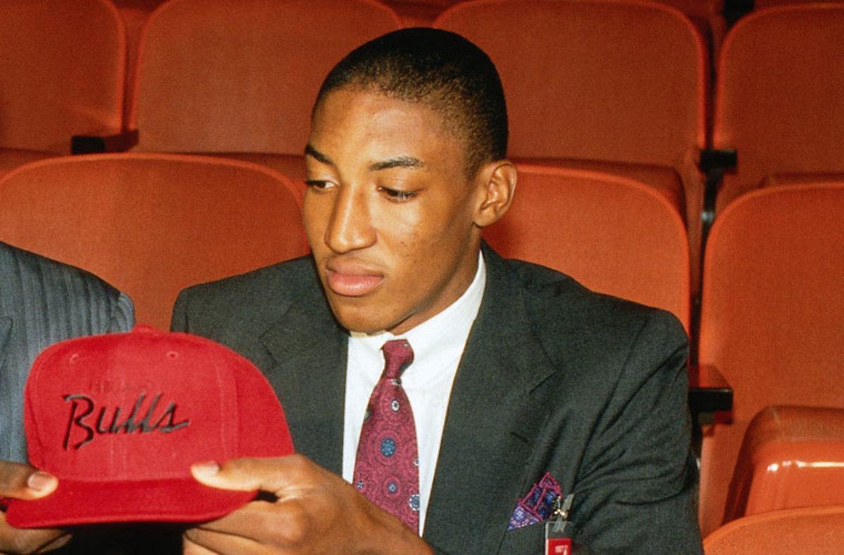 Scottie Pippen NBA Draft