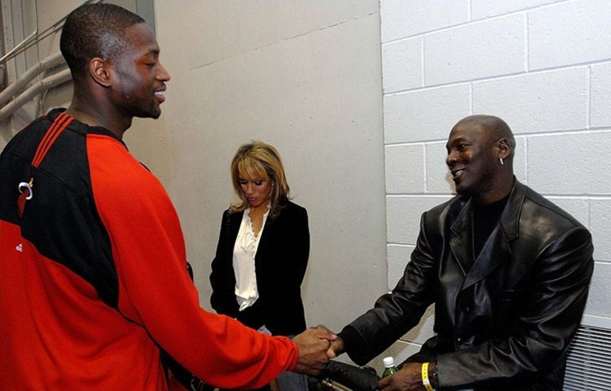 Dwyane Wade: 'Michael Jordan Was Chosen To Be The GOAT'