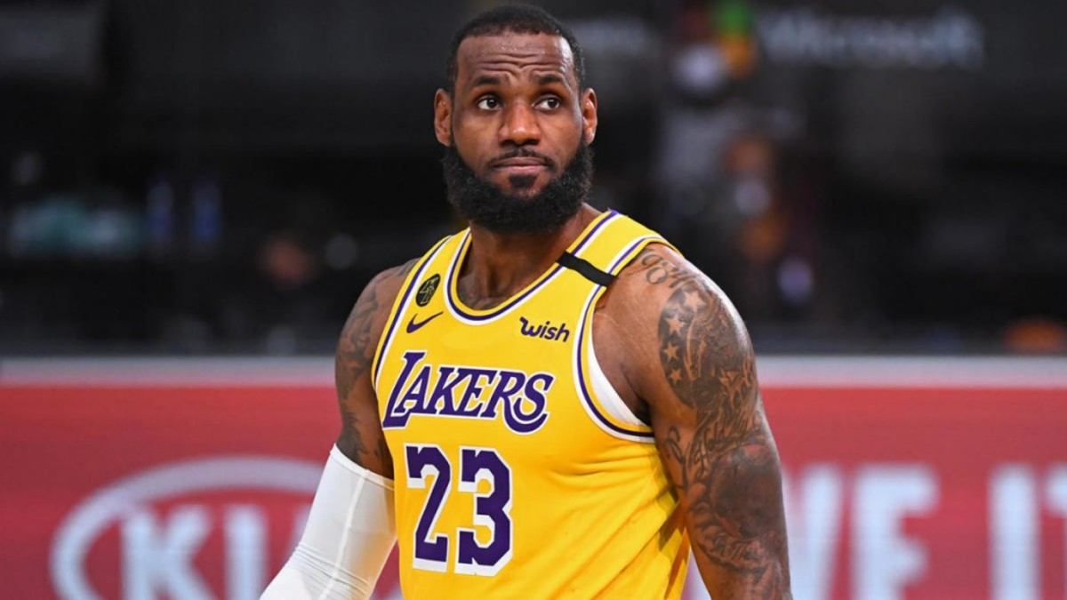 LeBron James On Possibility Of NBA Playing Games Without