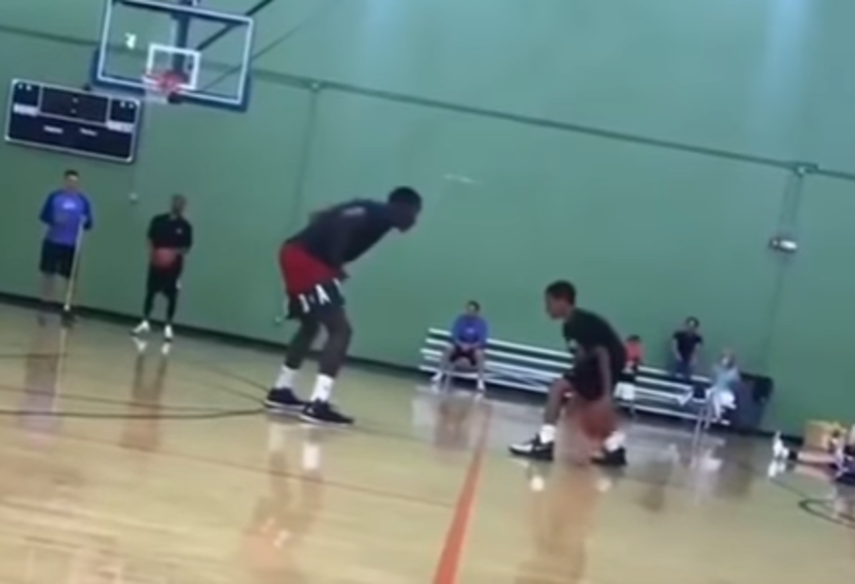 VIDEO: Victor Oladipo Gets Schooled By A 12-Year-Old Young Hooper
