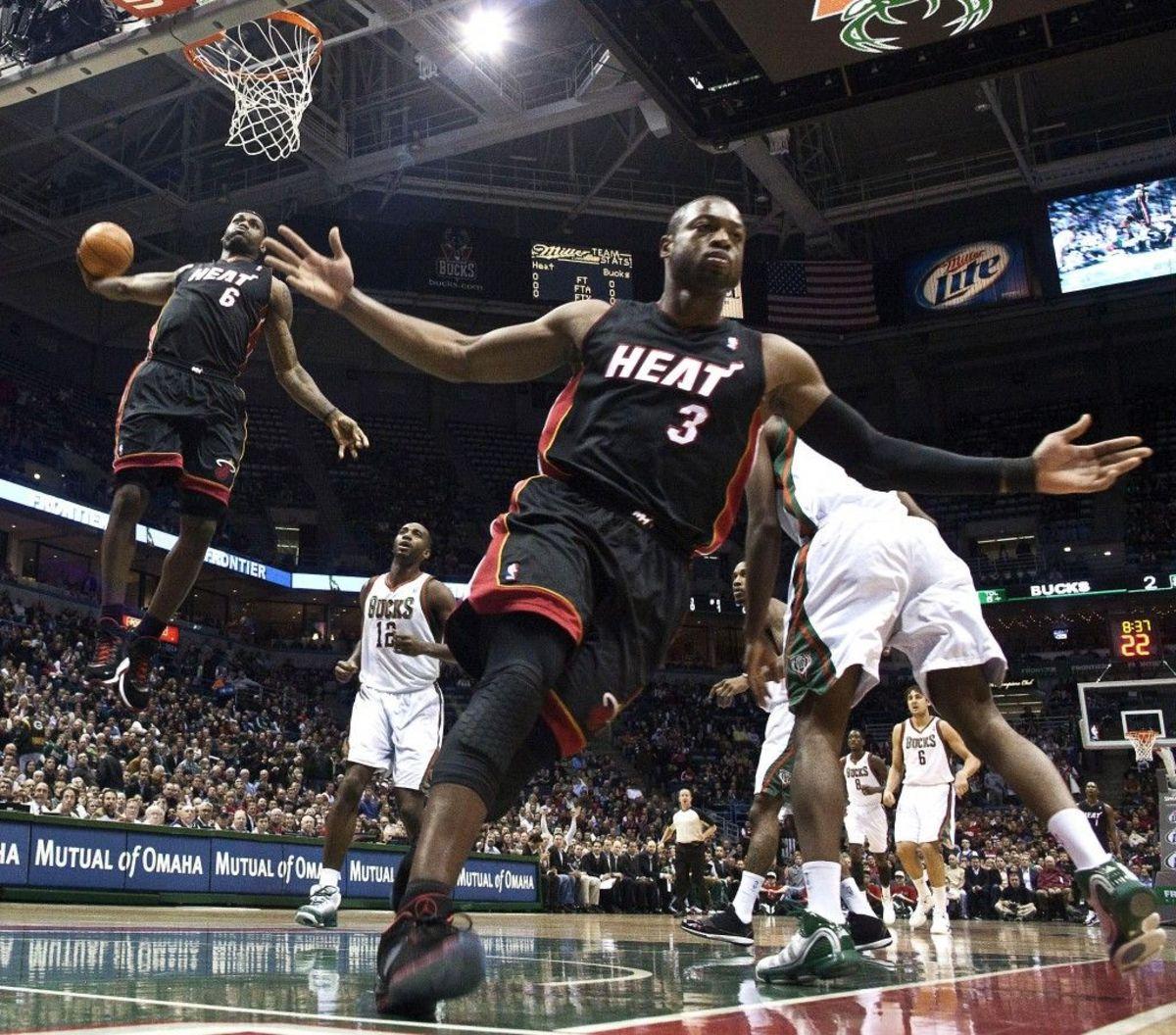Dwyane Wade LeBron James