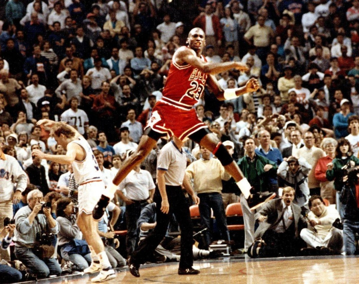 Michael Jordan Reveals What He Said After 'The Shot' Over Ehlo