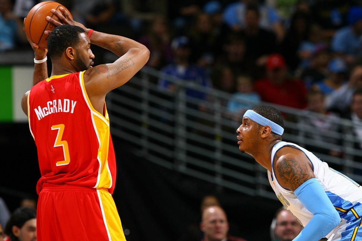 Tracy McGrady vs. Carmelo Anthony