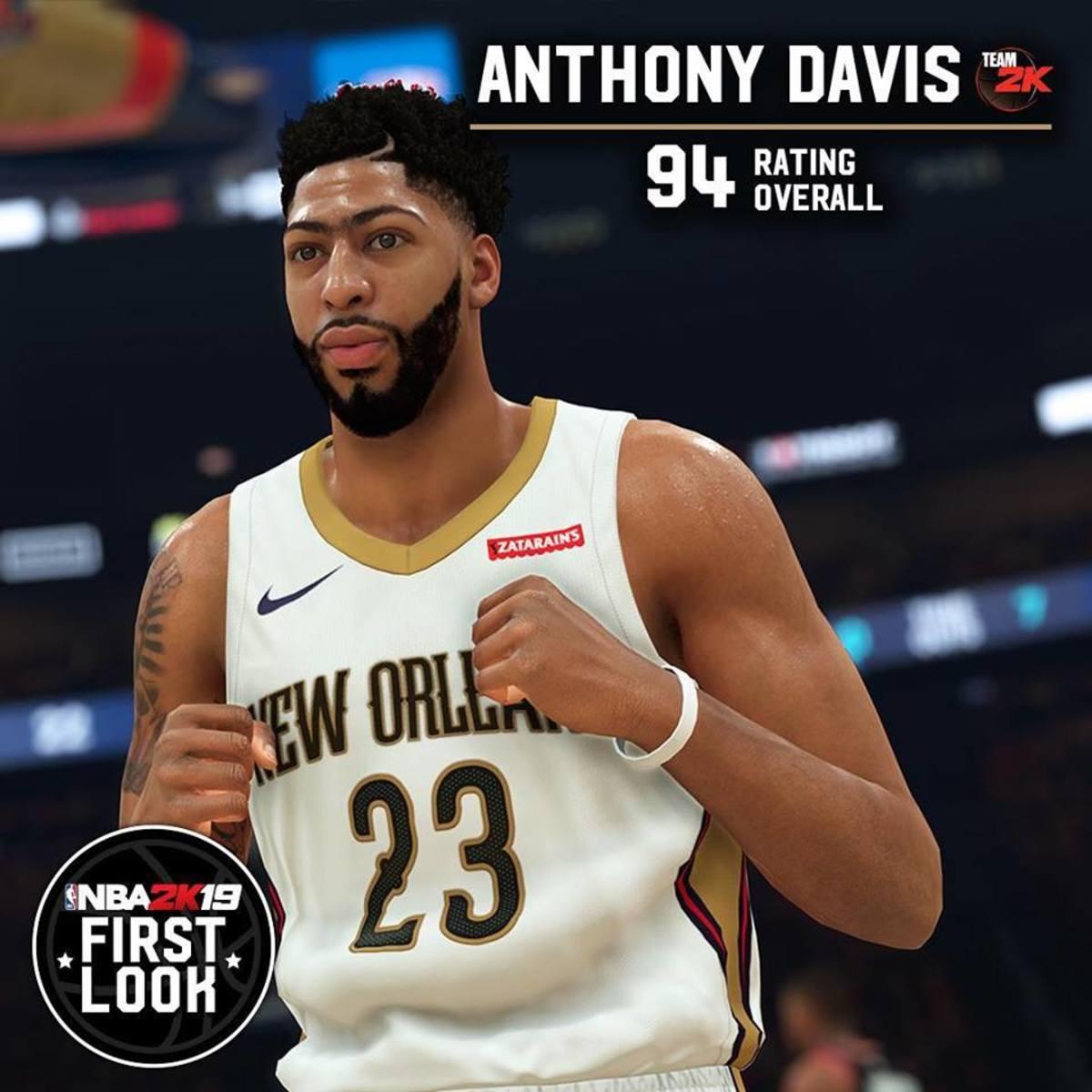 Anthony Davis 2k