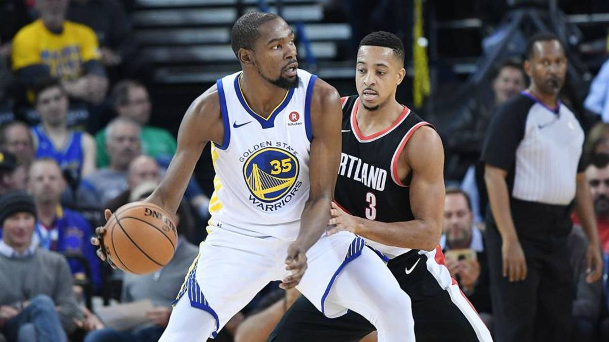 eb8b194533d0 CJ McCollum Takes Shot At Players Who Sign With The Warriors To Chase Rings