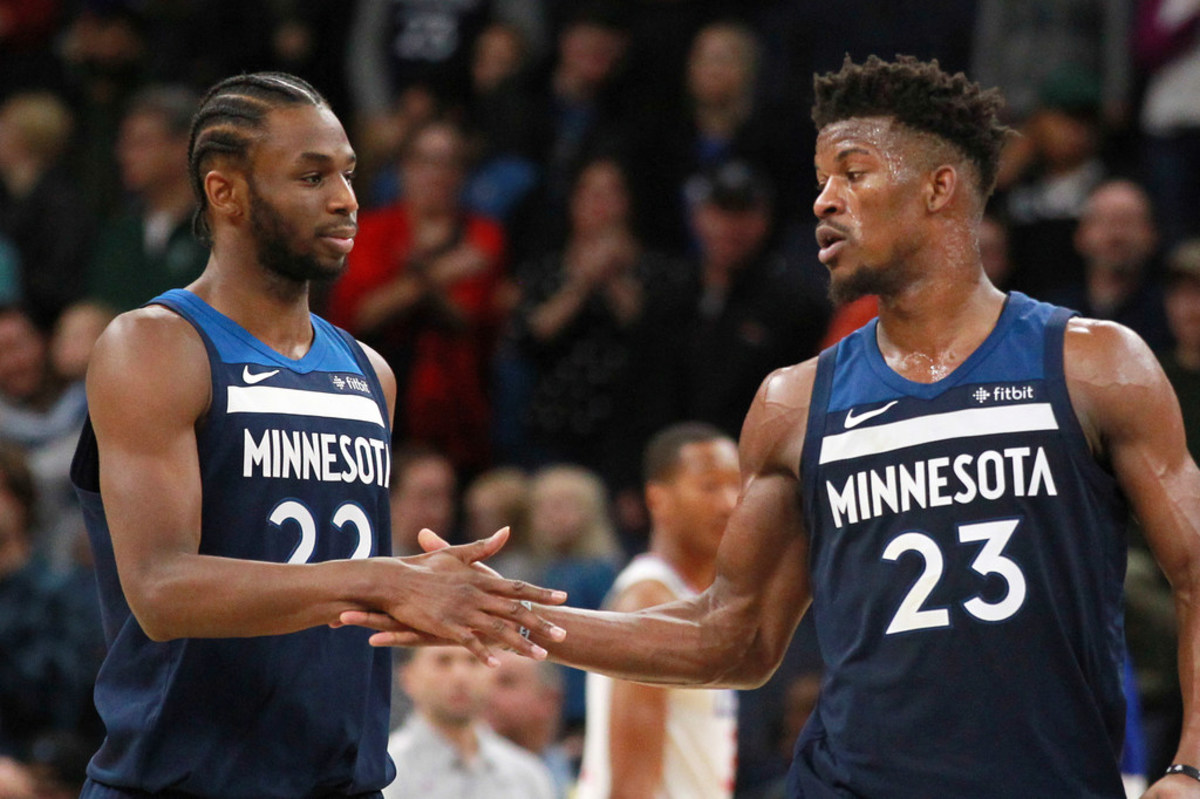 """Andrew Wiggins Says He's Been Rooting For Jimmy Butler's Miami Heat This Postseason: """"I've Been Rooting For Them. Jimmy, He Was A Great Teammate. """""""