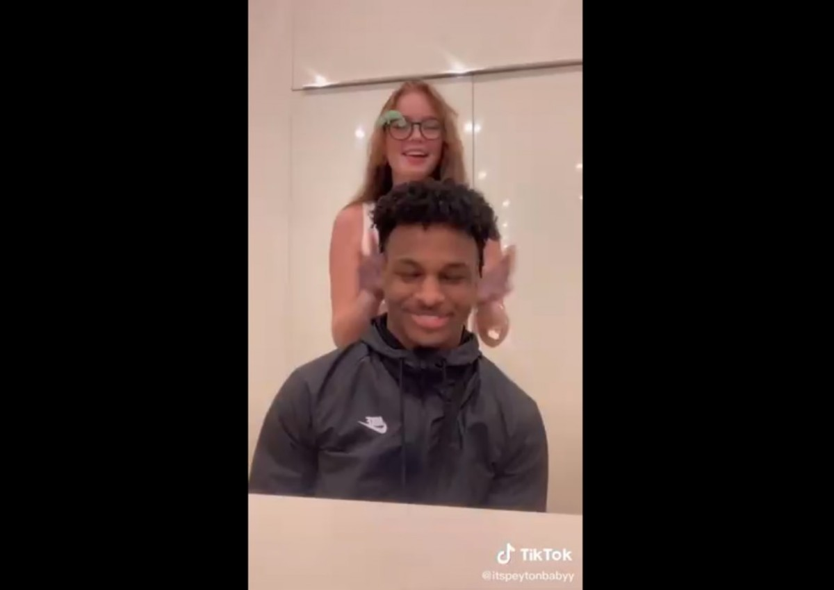 Bronny James Goes Viral After Appearing On Video With Suspected Girlfriend