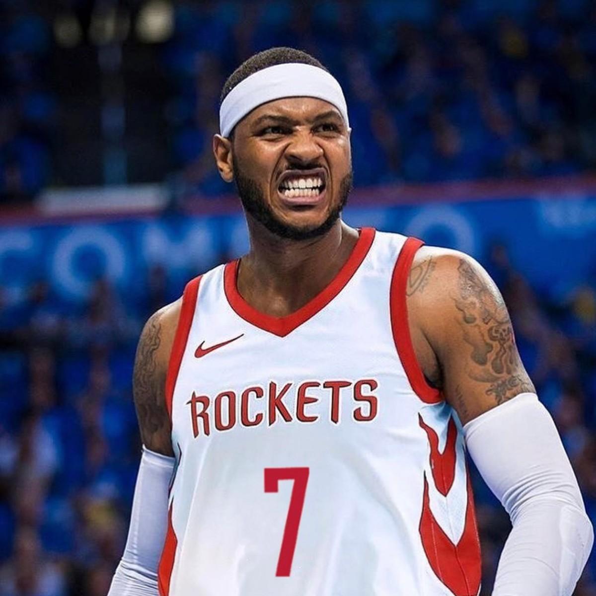 Carmelo Anthony Rockets NBA 41221
