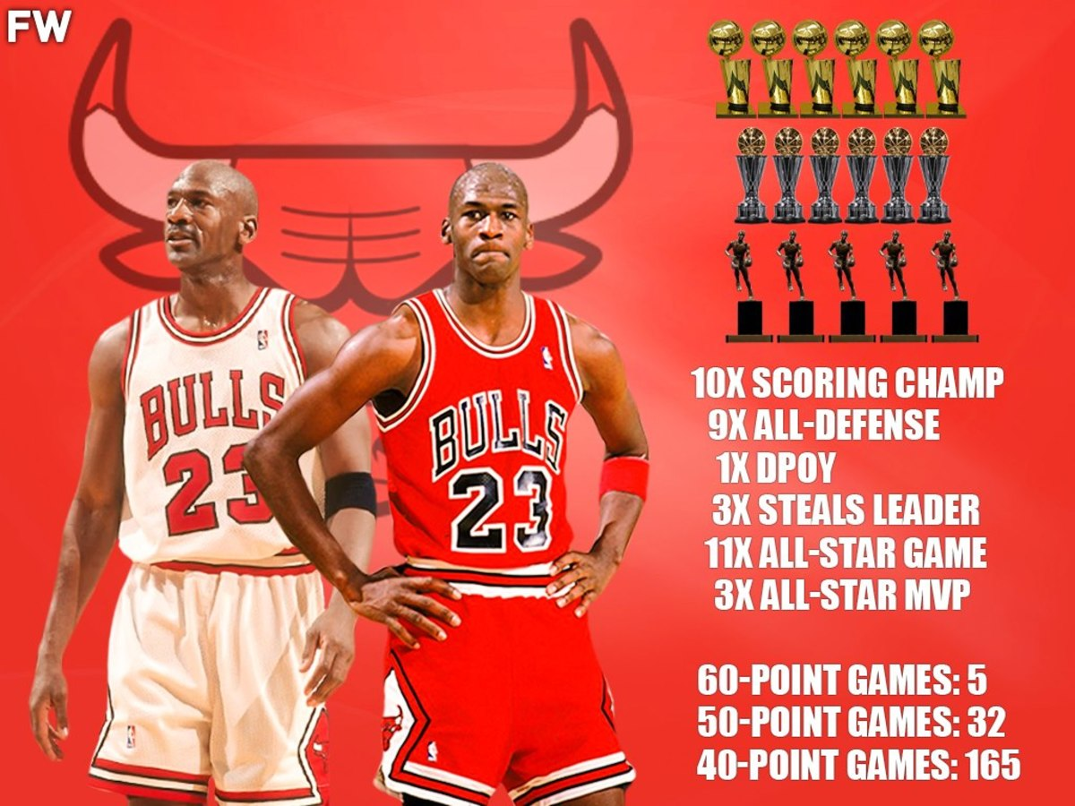 ecuación tijeras Carnicero  A Dominant 11-Year Span: Why Michael Jordan Is The Greatest Player Ever –  Fadeaway World