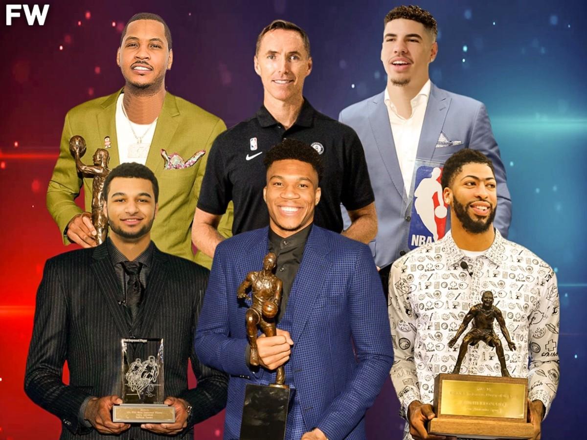 2021 NBA Awards Predictions: Giannis Antetokounmpo MVP, Anthony Davis DPOY, LaMelo Ball ROY