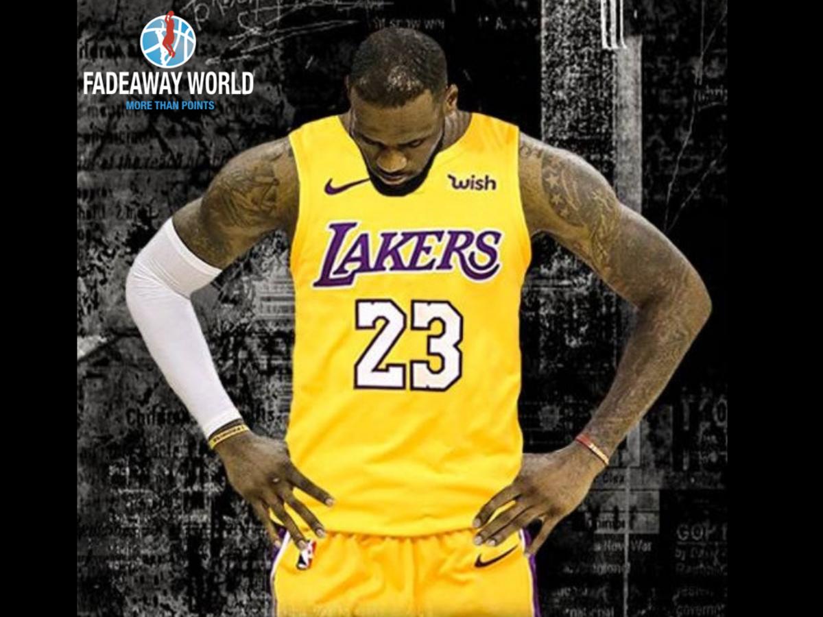 LeBron Lakers 414141