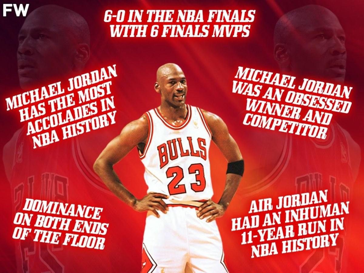 5 Reasons Why Michael Jordan Is The GOAT