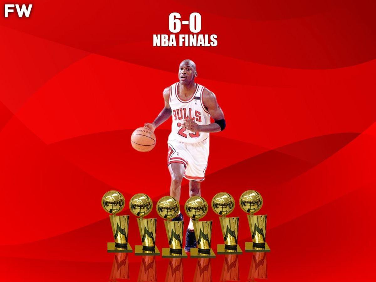 Michael Jordan 6-0 NBA Finals