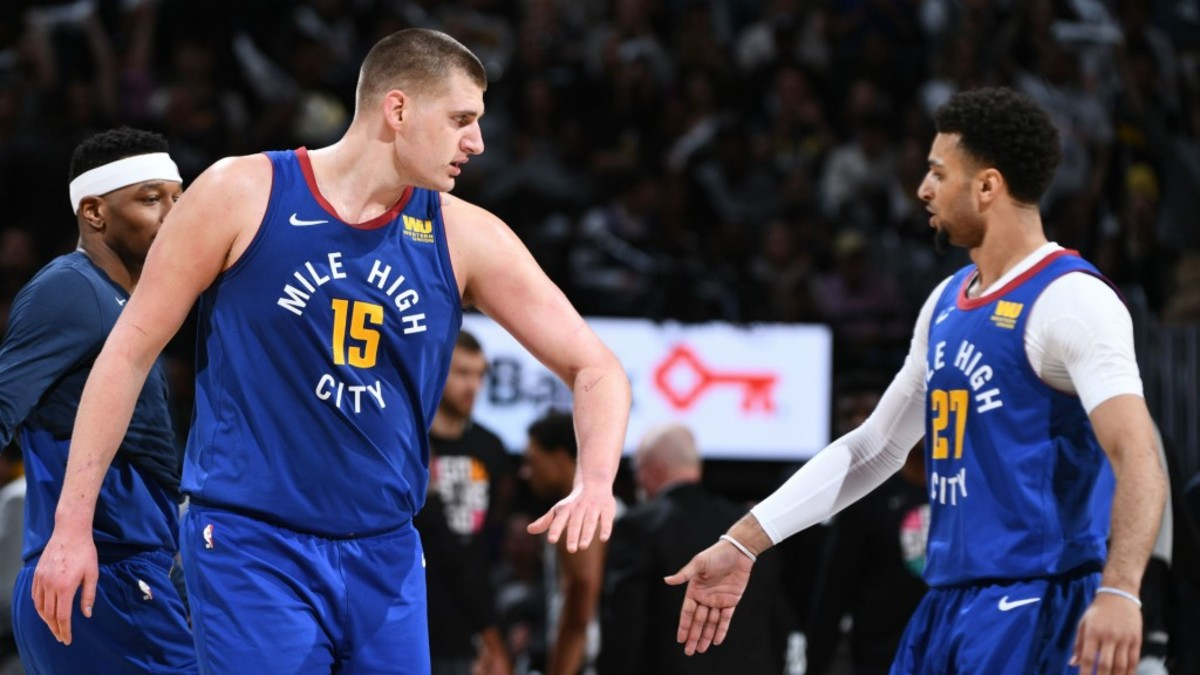 """Jamal Murray On Nikola Jokic: """"He's Hitting Step Backs, Fading Away, Off One Leg, With A Hand In His Face, Consecutive Times. I'd Say He's The Best Player In The World."""""""