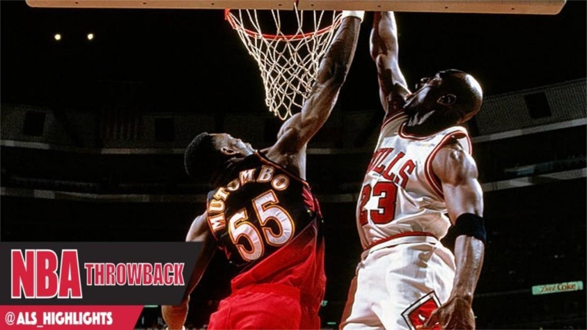 Dikembe Mutombo vs. Michael Jordan