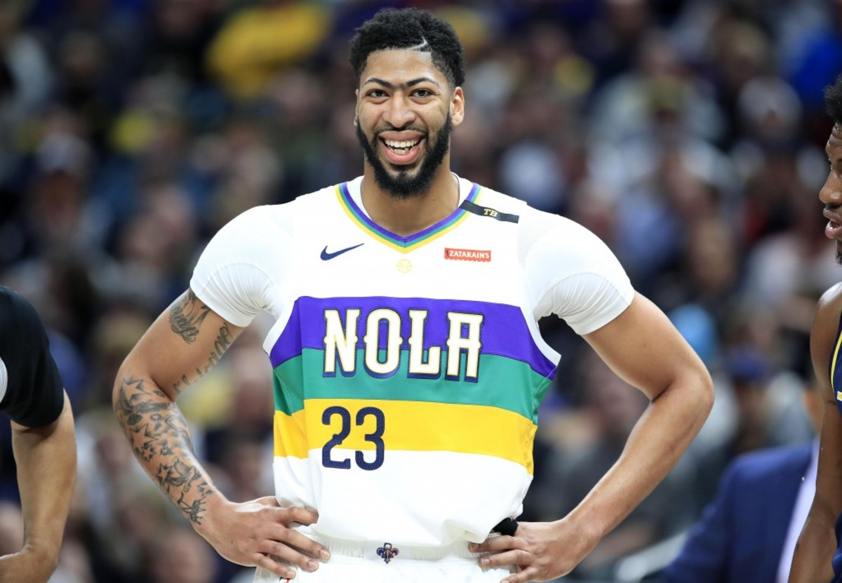 91e473a88 Magic Johnson s Departure Doesn t Change Anthony Davis  Mind On Lakers – Fadeaway  World