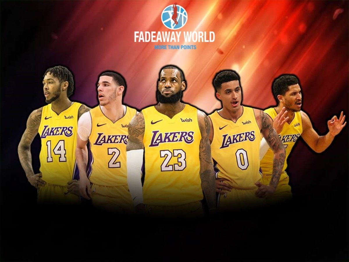 e2d2d94229a Lakers May Play LeBron James At Center Because Of The Death Lineup ...
