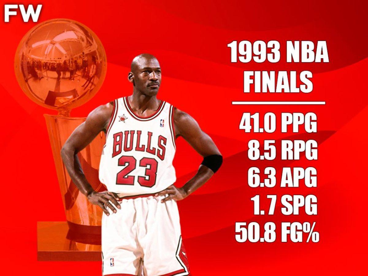 1993 NBA Finals Were Unreal
