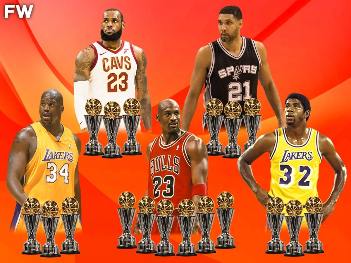 The Players With The Most Nba Finals Mvps Fadeaway World