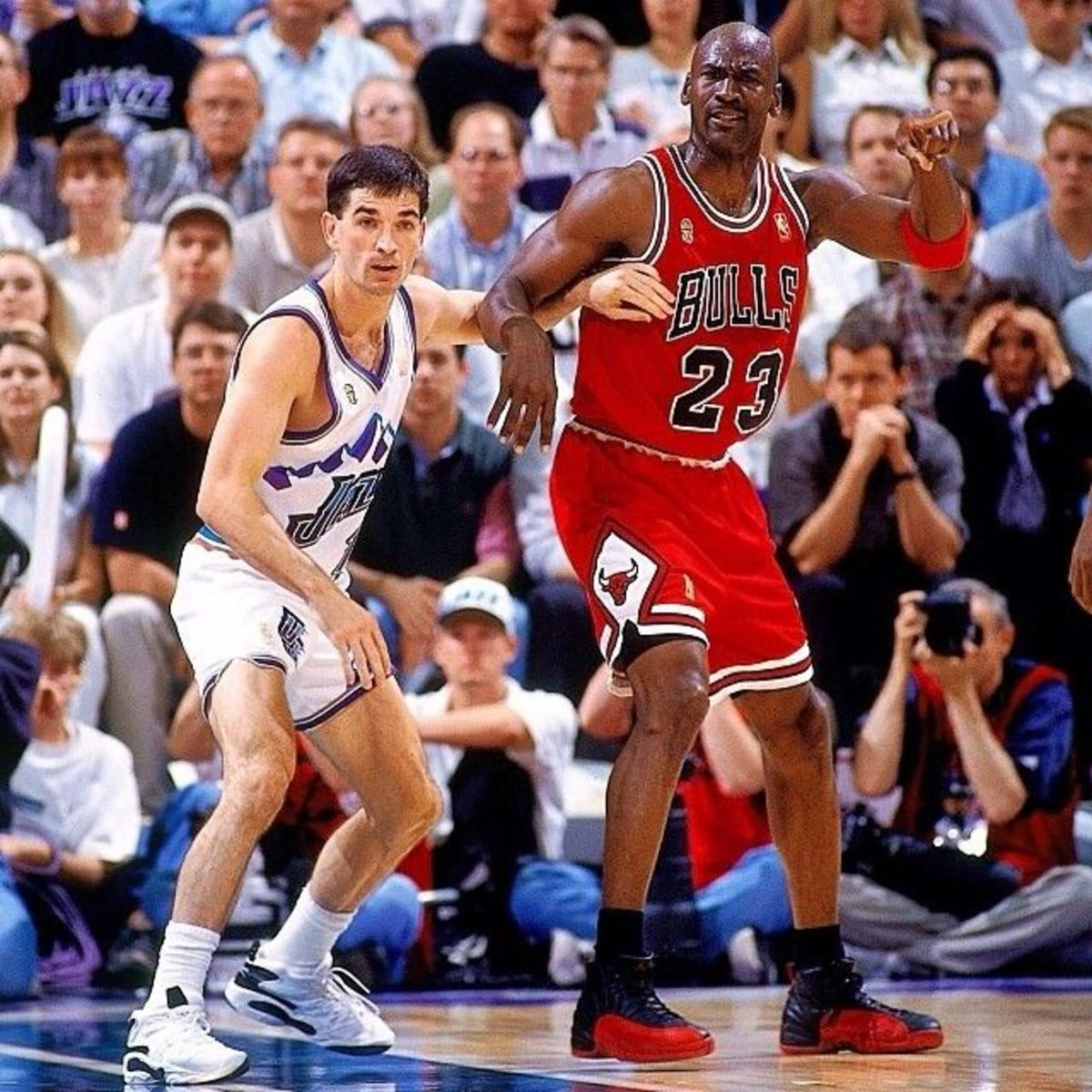 John Stockton vs. Michael Jordan