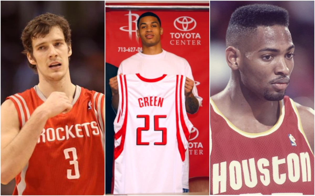 Top 10 NBA Players You Forgot Played For The Houston Rockets