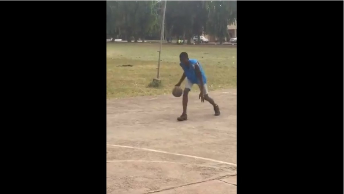 Talented African Kid Is Asking For Help To Play Basketball In America