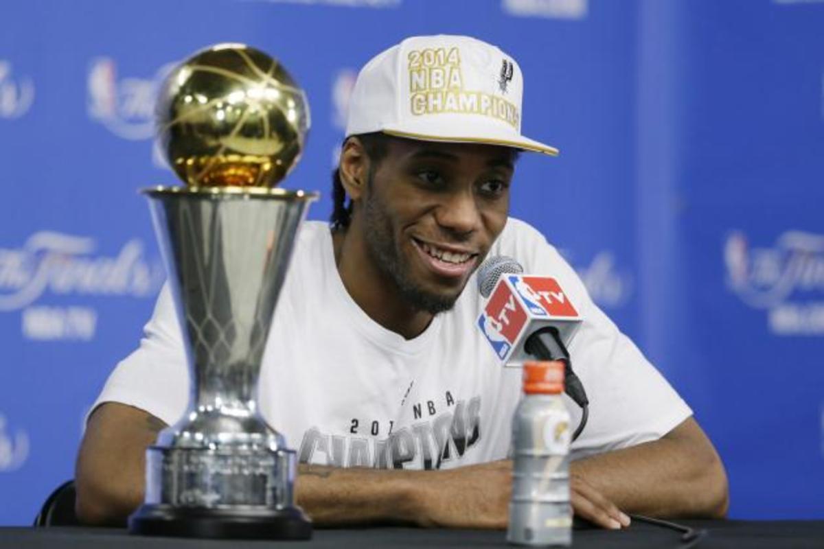 Kawhi Leonard MVP
