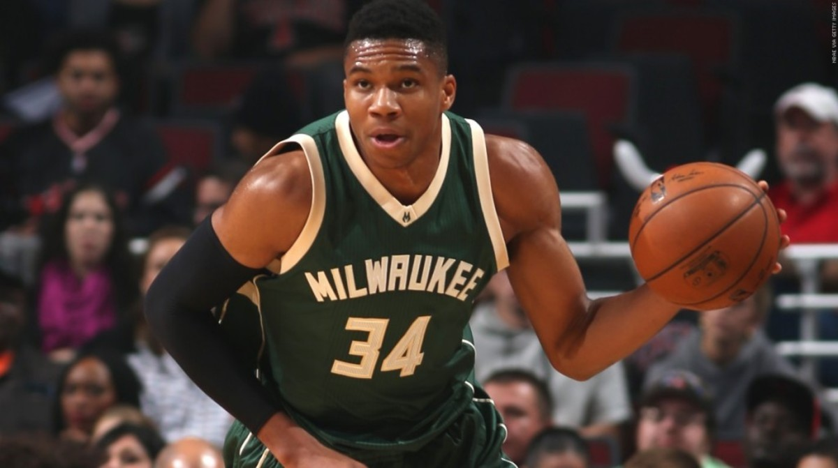 Giannis Antetokounmpo Most Improved Player