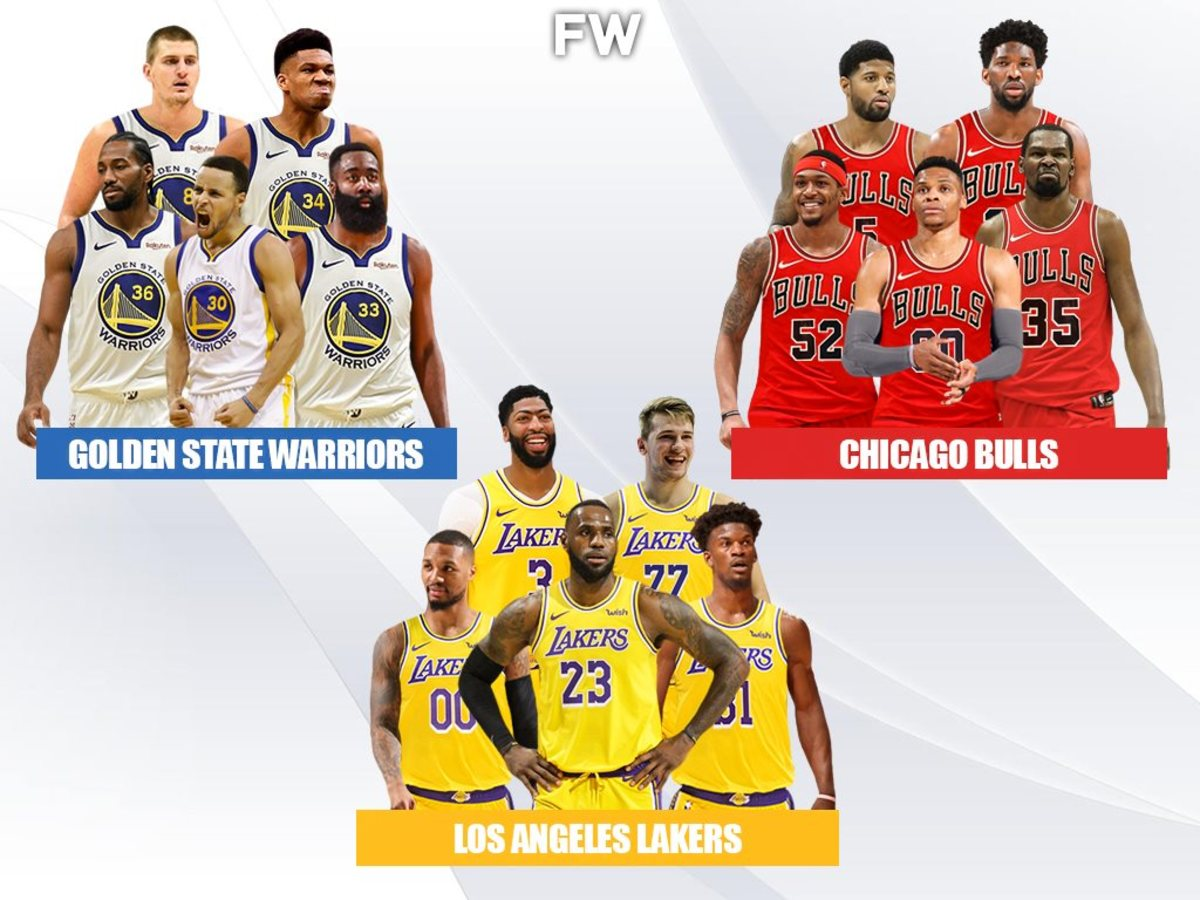 3 Superteams That Would Be Impossible To Beat: Lakers, Bulls And Warriors