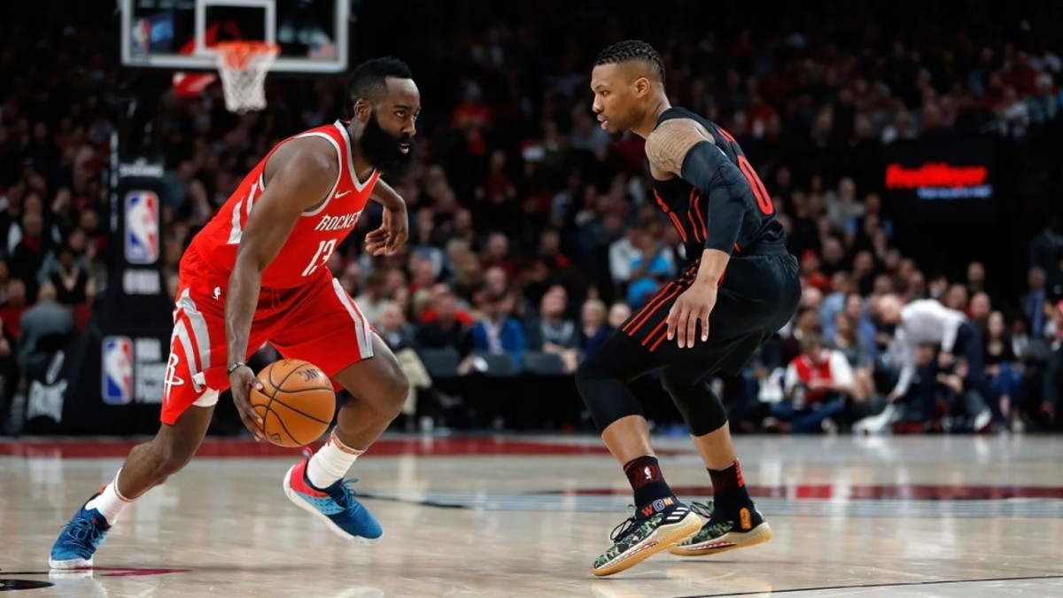 Damian Lillard Details How Foul Calls Make James Harden Hard To ...