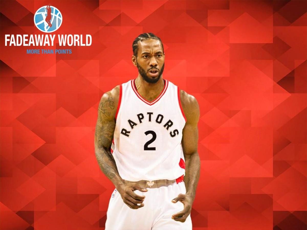Kawhi Leonard Toronto Raptors