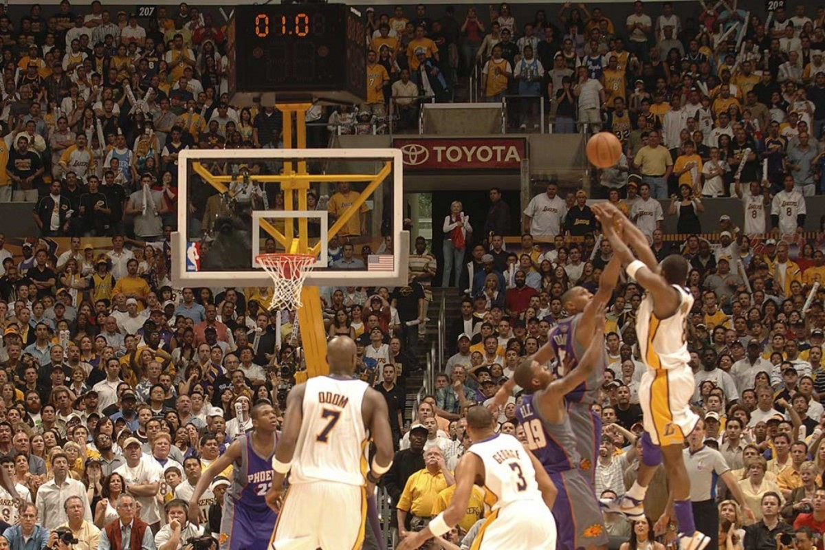 """Shaquille O'Neal Picks The Best Pose For Kobe Bryant's Statue At Staples Center: """"That Pull Up Jumper At The Buzzer Versus Phoenix"""""""