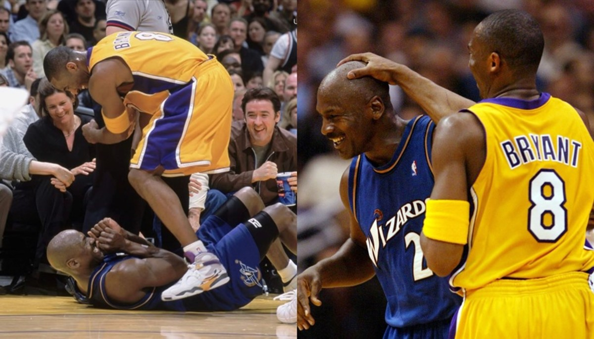 """When Kobe Runs Over Michael Jordan, Jordan Said: """"Well The Whole F*****g Building Knew You Weren't Gonna Pass"""" And They Both Burst Out Laughing"""