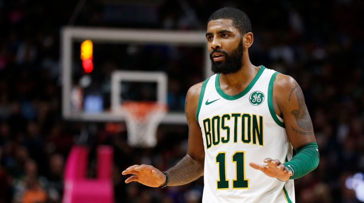 2019 NBA Free Agency: Lakers 'Rooting' For Kyrie Irving To Join Nets