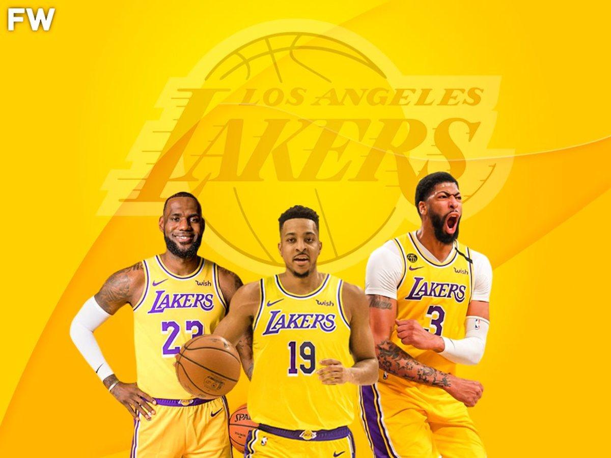C.J. McCollum Lakers