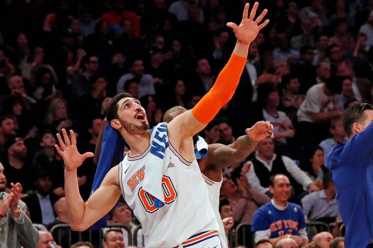 enes kanter throws shade at adam silver after demarcus