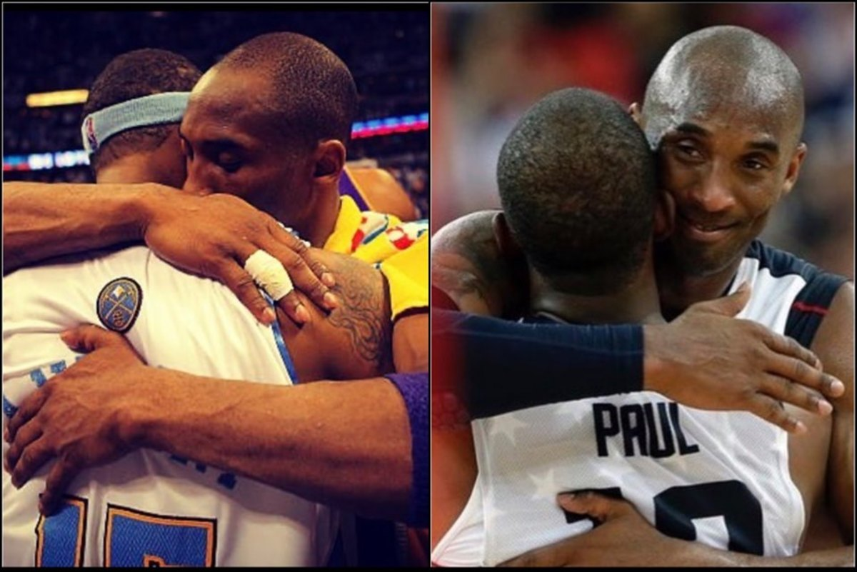 Carmelo Anthony And Chris Paul Post An Emotional Tribute To Kobe Bryant