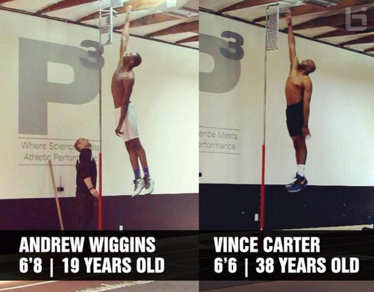 Andrew Wiggins - Vince Carter