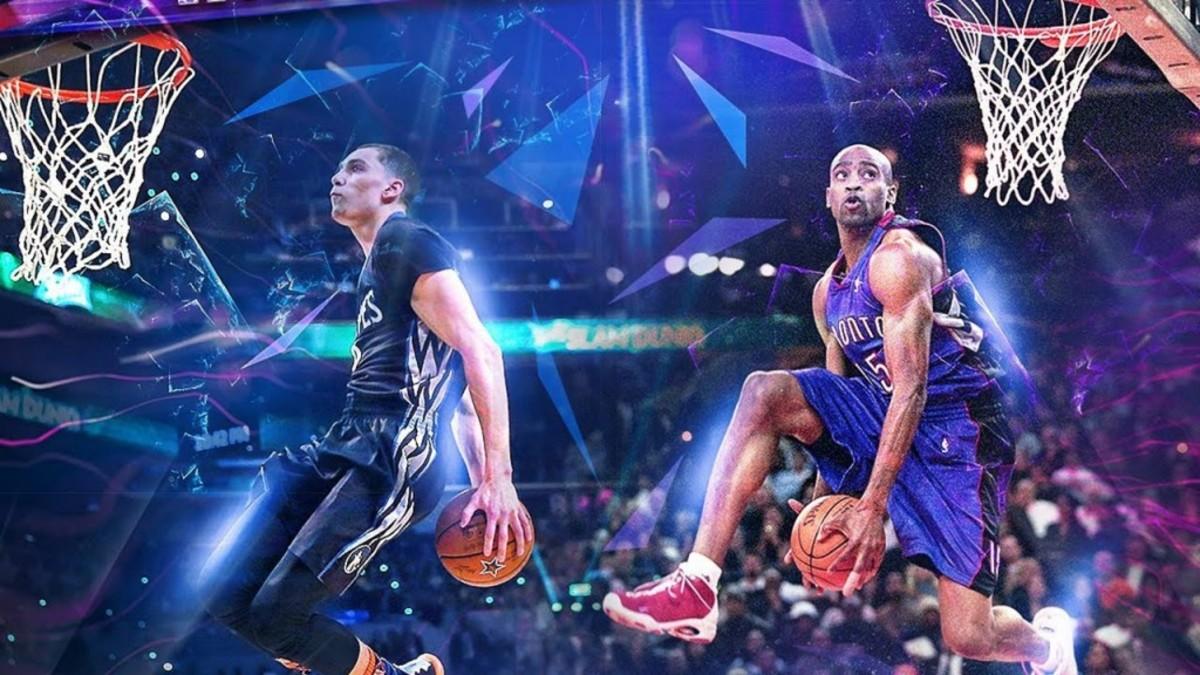 Vince Carter 2017 NBA Slam Dunk Contest