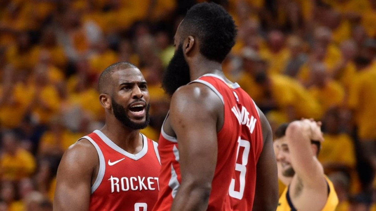 James Harden And Chris Paul Reportedly Had 'Verbal Exchange' After Game 6 Loss
