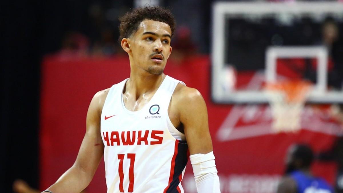 Trae Young Hawks NBA 41