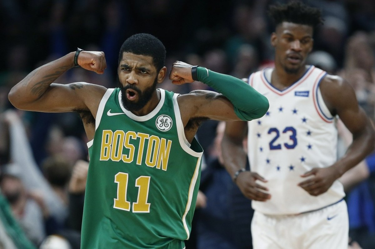 """Kyrie Irving 'Not Worried' About Recent Losses: """"Because I'm Here, We'll Be Fine."""""""