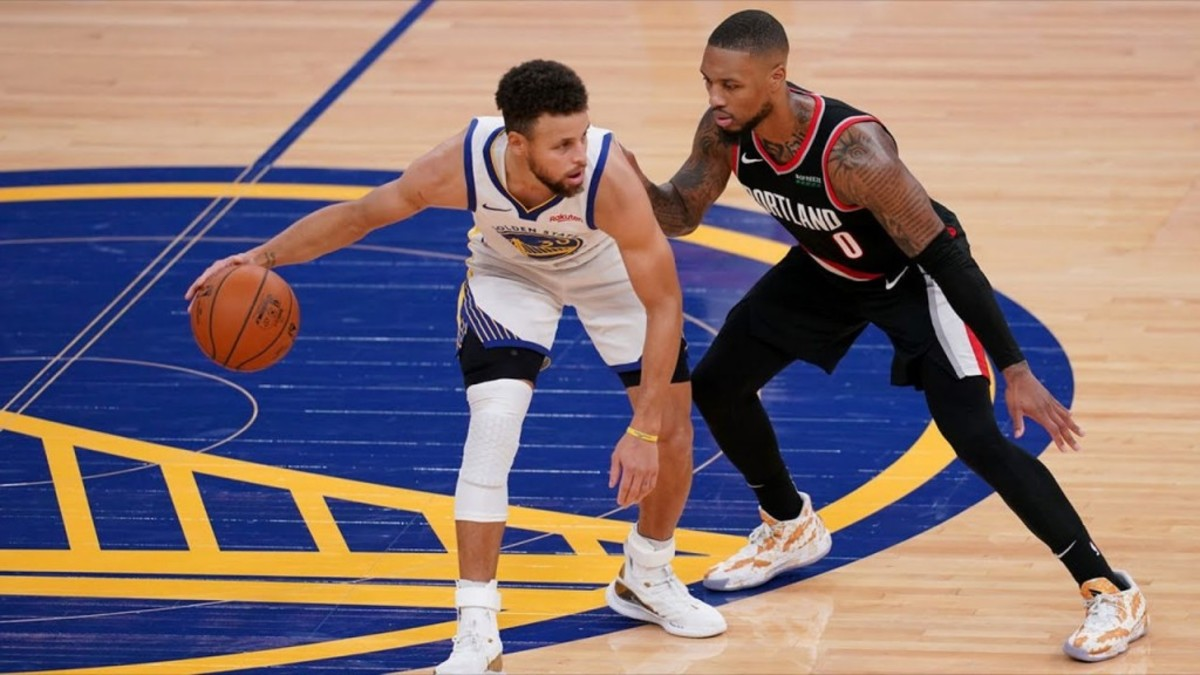 """Damian Lillard On Steph Curry's Struggles: """"He's Seeing That It's Tough To Get Those Quality Looks Right Now... It's Different Than What It's Looked Like The Last 4-5 Years."""""""