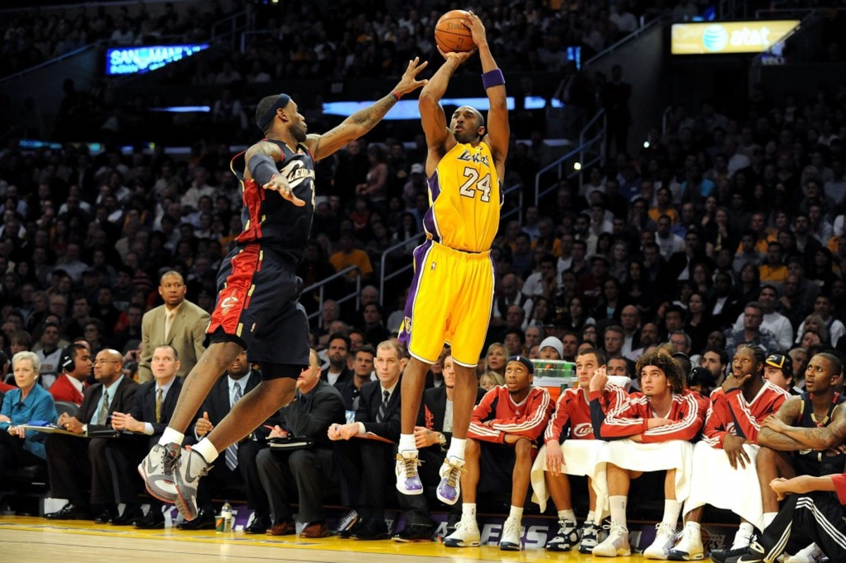 quality design bd35f dc5c9 Kobe Bryant Says He Is The G.O.A.T., Then Ranks LeBron and ...