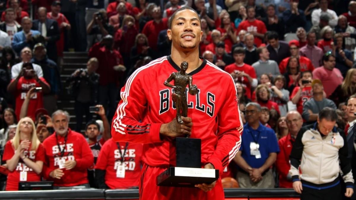 Derrick Rose MVP Chicago Bulls