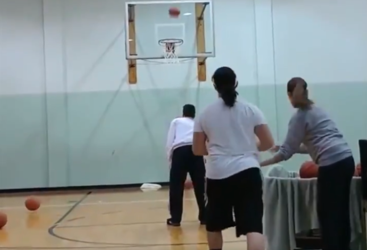 Video: Basketball Player Sets Guinness World Record For Most Three-Pointers In One Minute