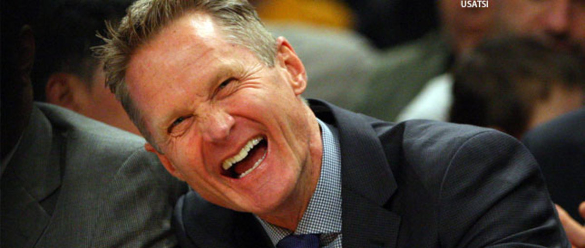 NBA All-Marijuana Team steve-kerr-warriors-knicks-smiling-usatsi