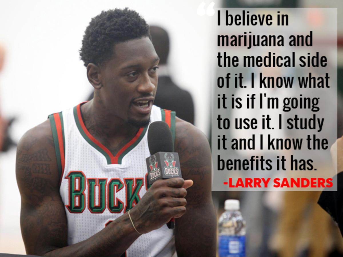 NBA All-Marijuana Team Larry Sanders