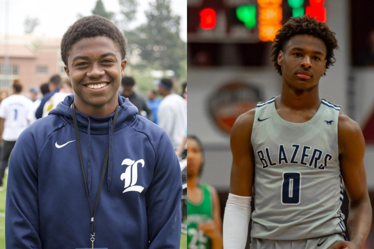 High School Football Player To Feature On Space Jam 2 As LeBron James' Son, Not Bronny James