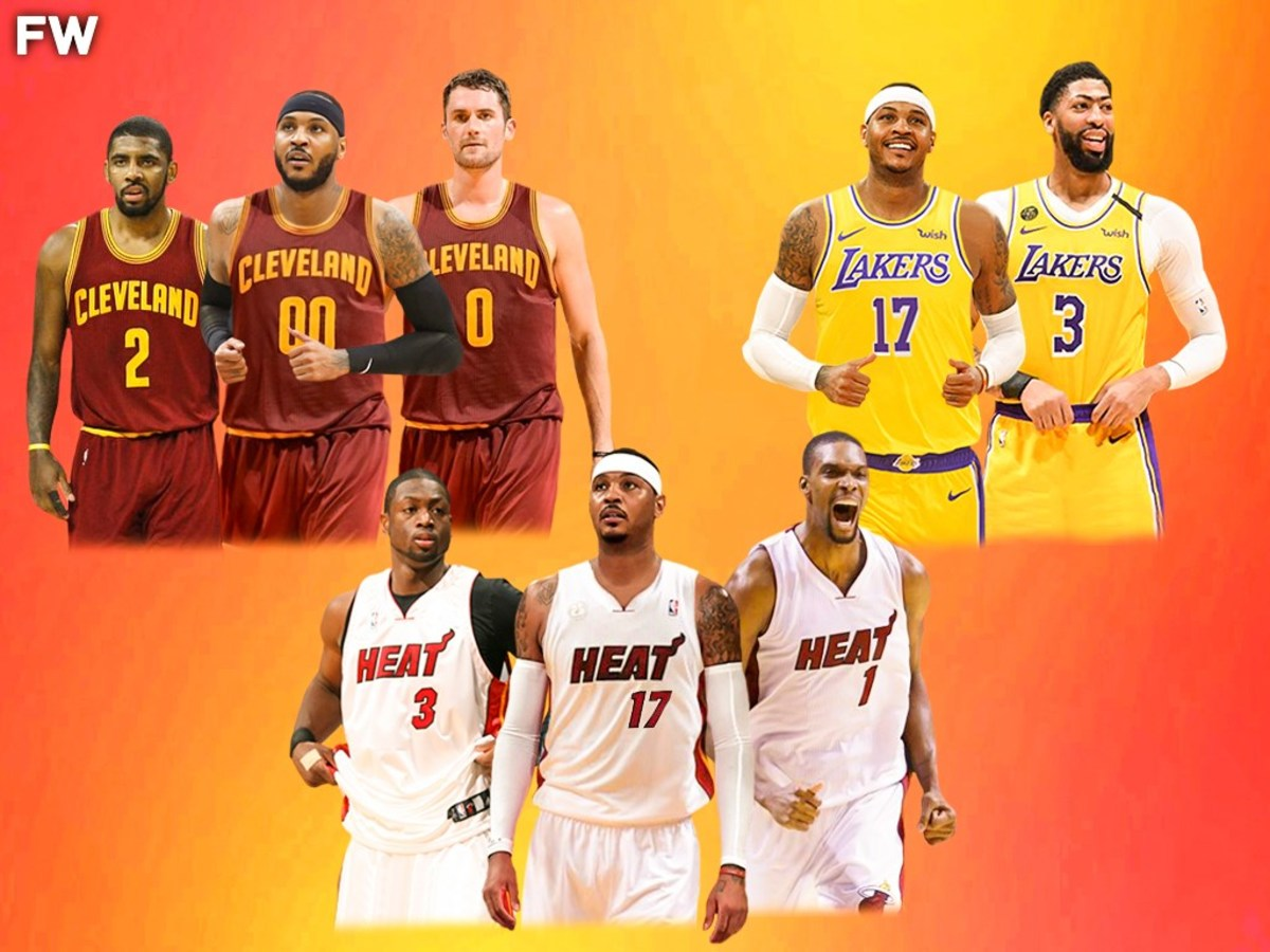 'If Prime Carmelo Anthony Played On All LeBron Teams Instead Of LeBron, He Would Have At Least 3 Championships By Now', Says NBA Fan